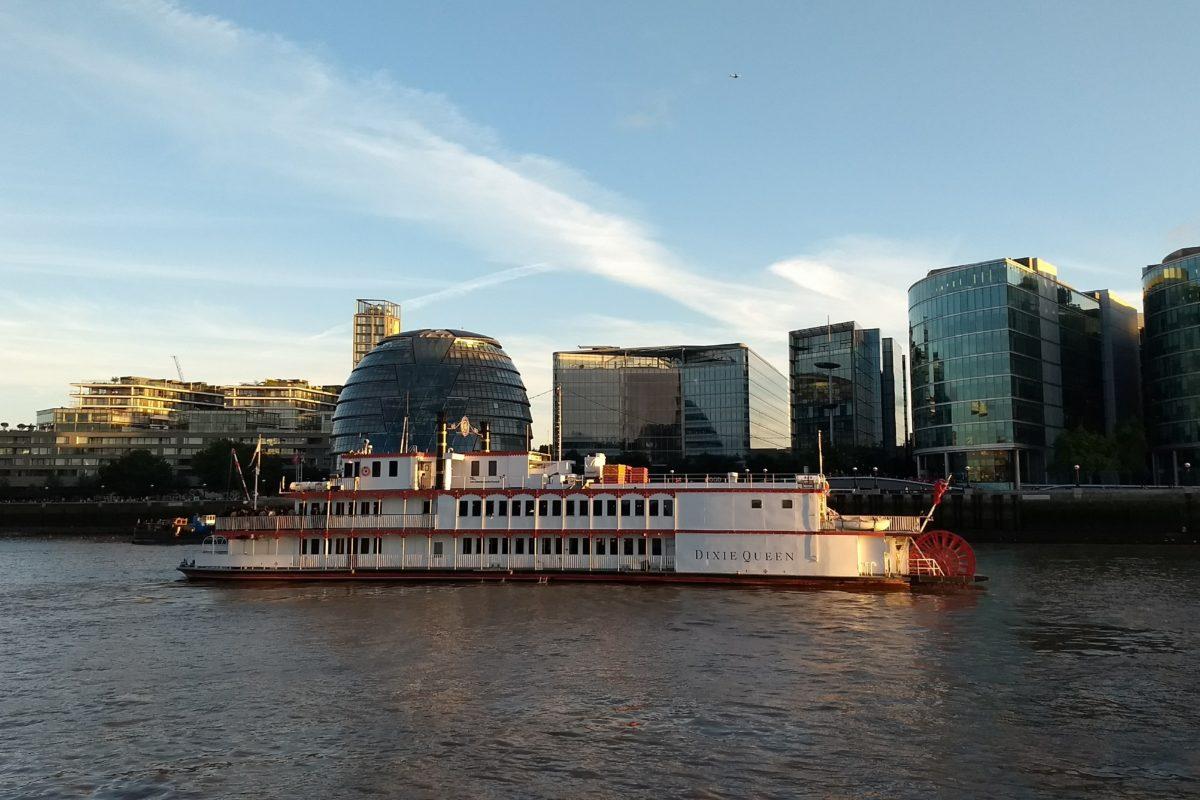 Londres desde el agua
