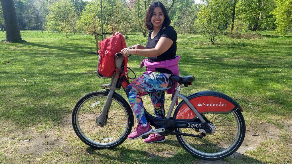 Santander Cycles en Londres